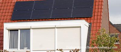 Dakkapel en zonnepanelen reinigen